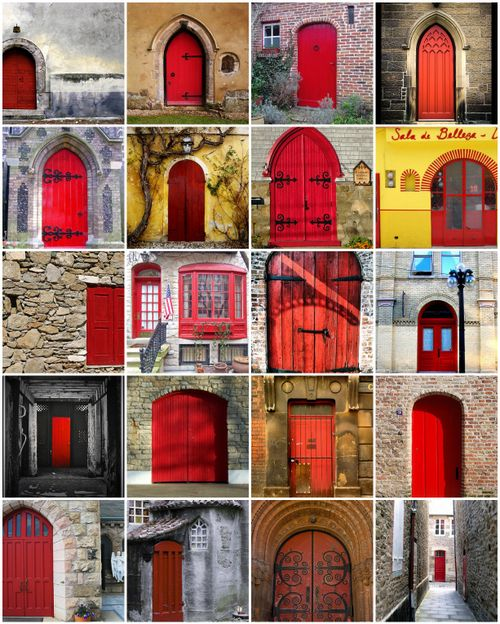 Red Door Mosaic