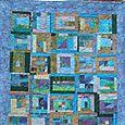Blue Project Improv Quilt
