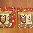 Mini Owl Quilts