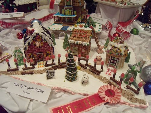 knitted gingerbread house knit one quilt too gingerbread fun