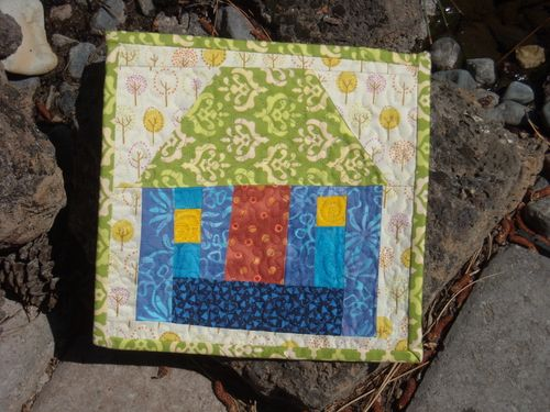 Little House Mini Quilt Raffle Prize