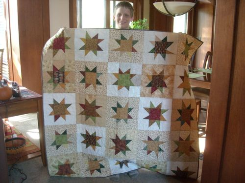 Liberated Stars Quilt