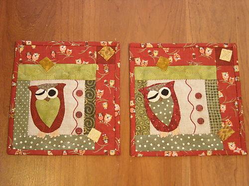 Mini Owl Quilts