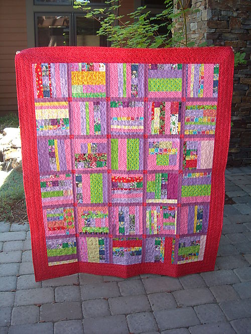 Pink String Quilt