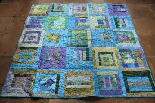 Project Improv Quilt for David and Anna