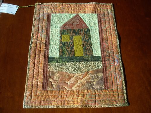 On the Metolius Mini Art Quilt